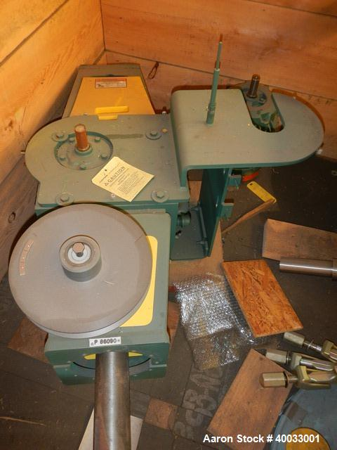 Used- 50 Gallon DTW Glass Lined 3 Blade Retreat Curve Agitator