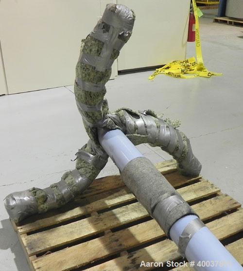 Used- Pfaudler 1000 Gallon 3-Blade Retreat Curve Agitator