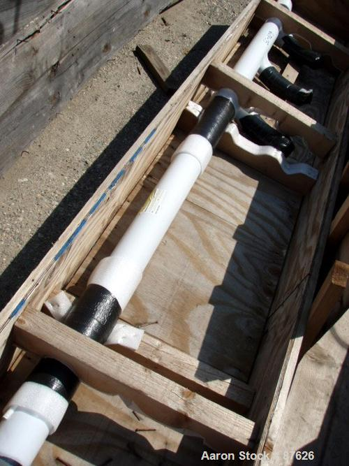 Used- Glass Lined 1000 gallon 3 Fin Baffle