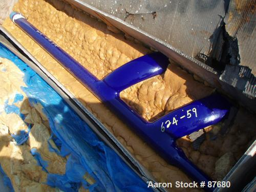 Used: Pfaudler 2000 gallon fin baffle with tip
