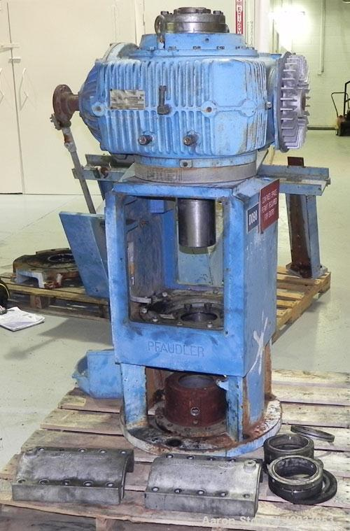 Used- Pfaudler 8RW Drive. Model WFRDWV-50800-EJD. 1.4/1 P Ratio. 10/1 S Ratio. 14/1 OA Ratio. Serial # 8-00127-P. To be used...
