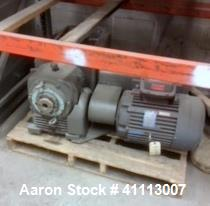 Used- Pfaudler Agitator Drive with Mechanical Seal