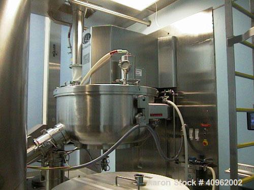 Used- GEI Collette Mixer/Granulator, Model GRAL 1200