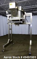 "Used- W. Crockatt and Sons LTD Granualtor, Model # 5, 316 Stainless Steel. Approximate 24"" diameter granulating section, dri..."