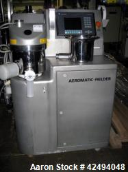Used- Aeromatic Fielder Microwave High Shear Single Pot Processor