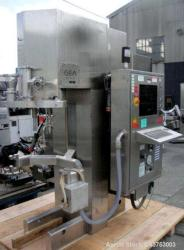 Used- GEA Collette High Shear Mixer, Model Gral 75