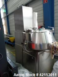 Used- Diosna Model P 100 High-Shear Mixer-Granulator.