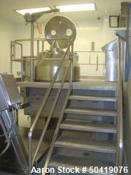 Used- Niro Fielder PMA 800/2G 800 Liter Vertical Granulating Mixer