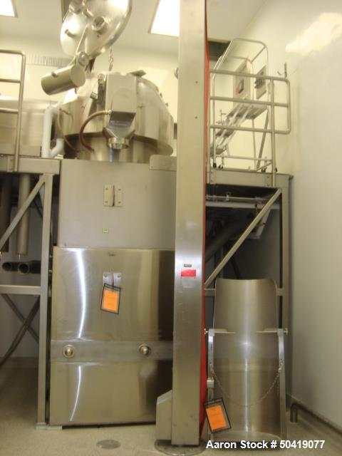 Used- Niro Fielder 800 Liter Granulating Mixer