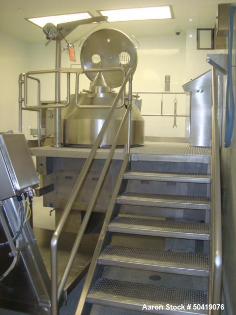 Used- Niro Fielder PMA 800/2G 800 Liter Vertical Granulating Mixer