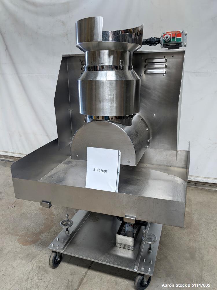 Used- Stainless Steel Granulator / Lump Breaker.