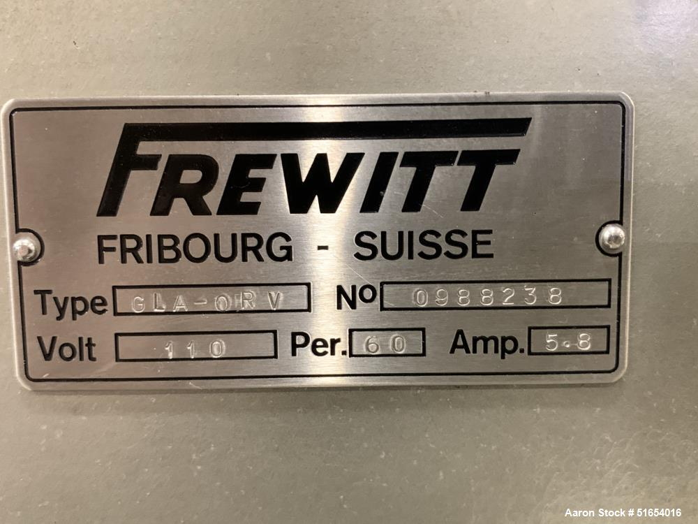 Frewitt GLA-ORV Oscillating Granulator