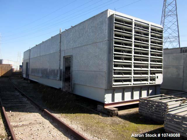 Unused- GEA Rainey, Model 6-1440T144 Air Fin Cooler. 84,070 extended sq. ft., 4,383 bare sq. ft. 1102 psi, 340 deg F., (342)...