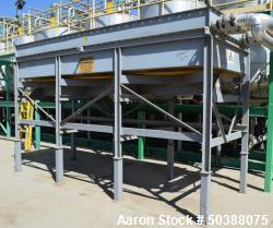 Used- Armstrong-Hunt Air Cooled Heat Exchanger, Model CU2-C6-U10-63-1/4 X 178-3/4 X 10. Rated 160 psi at 350 degrees F. (3) ...