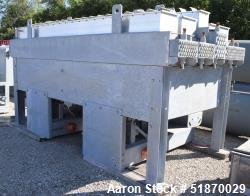 Unused- Fabsco (4) Tube Section Fin Fan Heat Exchanger, Approximate 389 Total Square Feet, Carbon Steel . (2) Tube sections ...