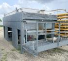 Used- Fabsco Fin Air Fin Fan Heat Exchanger, Approximate 660 Square Feet, Galvanized Housing. (158) 1