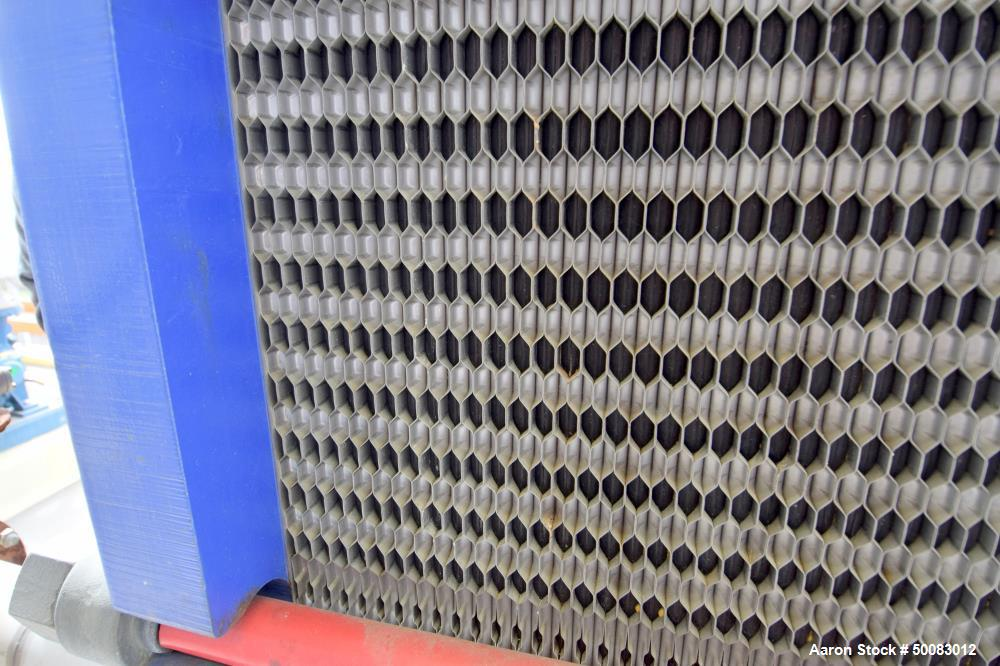 Used- Alfa Laval AlfaCond Plate Surface Condenser,  Model AlfaCond 600-FM, 859 S