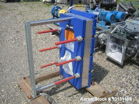 Used- Alfa Laval Plate Heat Exchanger. Model M10-BWFG