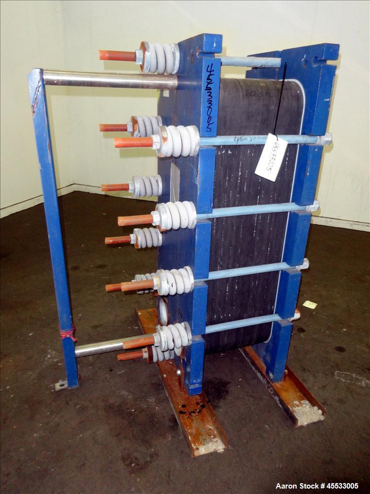 Used Alfa Laval Plate Heat Exchanger Type S10n