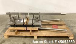 Unused- APV Crepaco Stainless Steel Plate Heat Exchanger, Model SR25SL. (24) 316 Stainless Steel plates with (EPDM) gaskets....