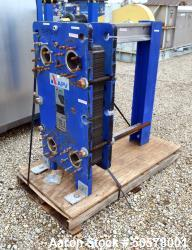 Used- APV Plate Heat Exchanger, Model Q030 M-10