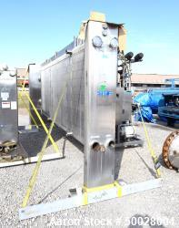 Used- APV Royal Paraflow Plate Heat Exchanger, Model R50.
