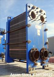 Used- APV Plate Heat Exchanger, Model TR9GLMGS11, 316 Stainless Steel.