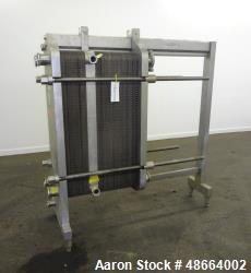 Used- Cherry Burrell Thermaflex Plate Heat Exchanger, Model 435CBL