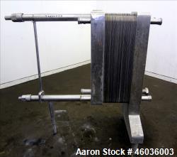"De Laval APV Paraflow Plate Heat Exchanger, Type HX, Approxmiate 150 square feet. (70) 9"" wide x 36..."
