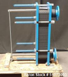 Used- Funke Plate Type Heat Exchanger, Type FP 14-57-1-NH-0