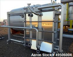 Used- Krones Thermowave Plate Heat Exchanger, Stainless Steel.