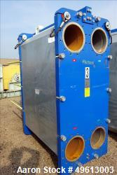 Used- Polaris Plate Heat Exchanger, 304 Stainless Steel.