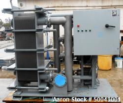 Unused- Heat Exchanger and Pump Skid.