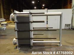Tranter Superchanger Plate Heat Exchanger, Approximate 878.8 Square Feet Surface Area, Model 06-T16...