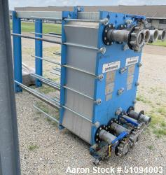 Used- Tranter GX Series Superchanger Plate Heat Exchanger, 677.27 Square Feet Surface Area, Model GXP-042-H-5-NR-145. Rated ...