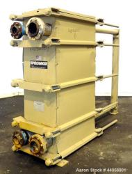 Used- Tranter Superchanger Plate Heat Exchanger, Model UX-496-UP-235
