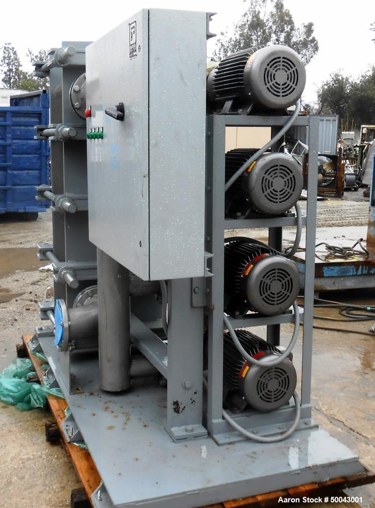 Unused- Heat Exchanger and Pump Skid.
