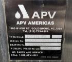 Used- APV Royal Paraflow Plate Heat Exchanger, Model R50.