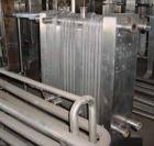 USED:Delaval plate heat exchanger, model P13RC, stainless steel.Approx 190 square feet. (147) 10