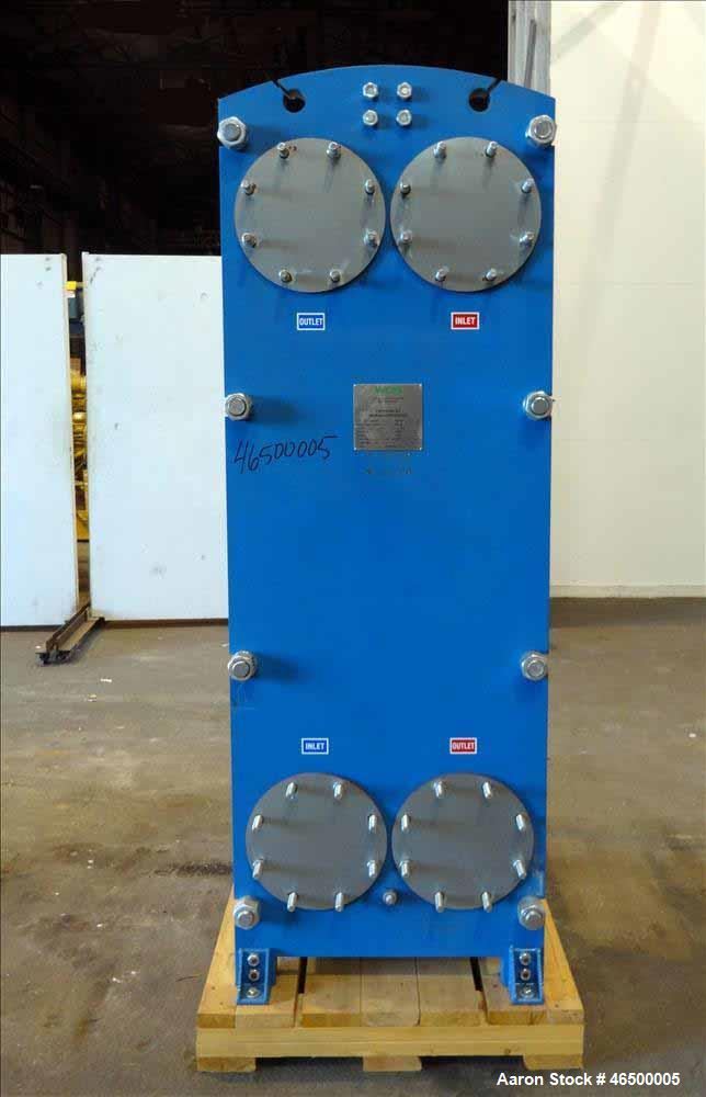 Unused- WCR Incorporated Plate Heat Exchanger, Model WCR-A891M