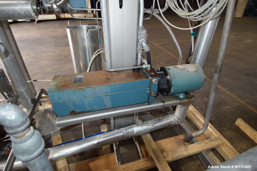 Used- Alfa Laval Scraped Surface Contherm Heat Exchanger