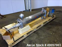 Used- APV Crepaco Scrape Surface Heat Exchanger, Model HRT/HD/HEXHD 672