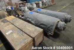 Used-9 Sq Ft Cherry Burrell Votator II Horizontal 6x72 Scraped Surface Heat Exchanger. Shell MAWP 600PSI@400F. Jacket MAWP 2...