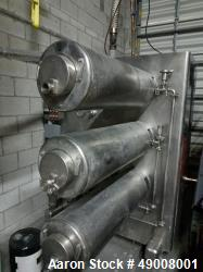 Used Cherry Burrell - Converted to Freon, each cylinder runs 300 gallons per hou