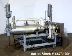 Used- Nickel Votator Triple Tube Scraped Surface Heat Exchanger System