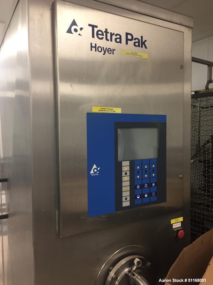 Used- Tetra Pak Hoyer Continuous Ice Cream Machine