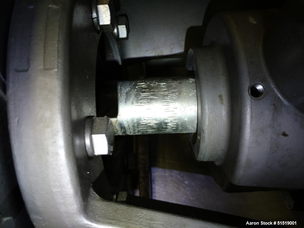 Used- Waukesha Cherry Burrell Votator II Scraped Surface Heat Exchanger