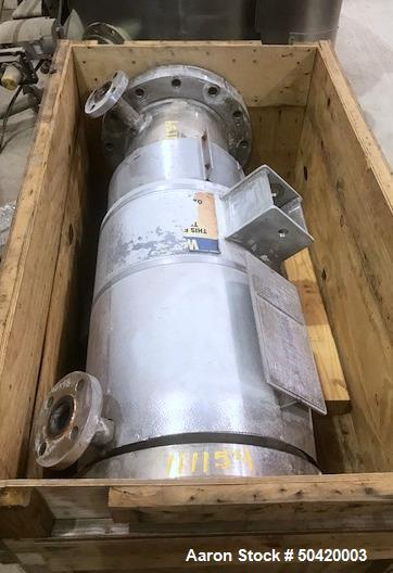 Used- Ellett Industries Shell & Tube Heat Exchanger, 85 Square Foot