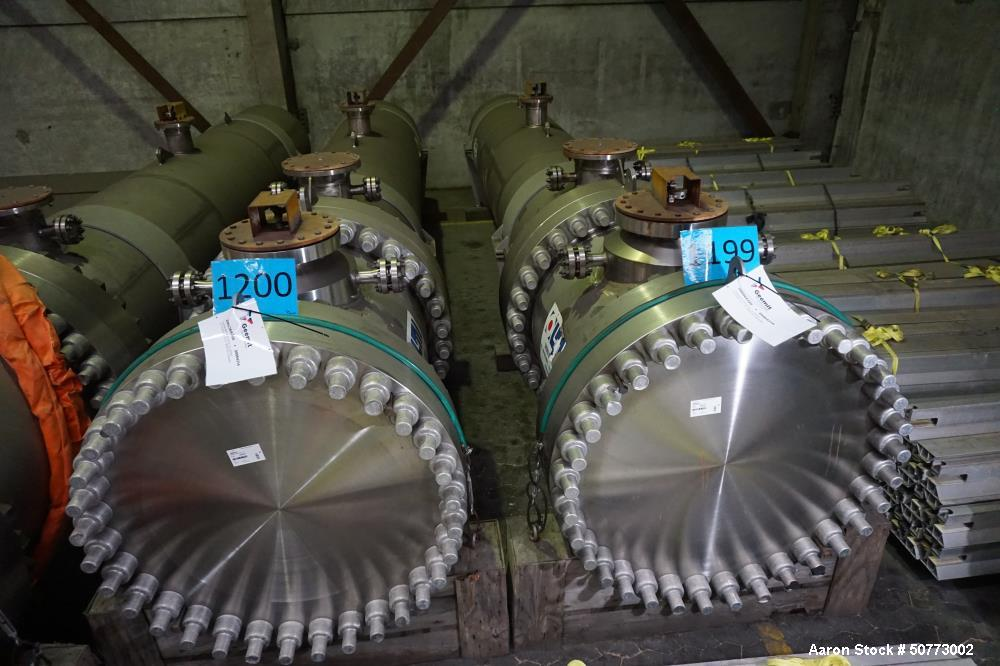 Unused- OLMI S.p.A Shell & Tube Heat Exchanger (Cooler)