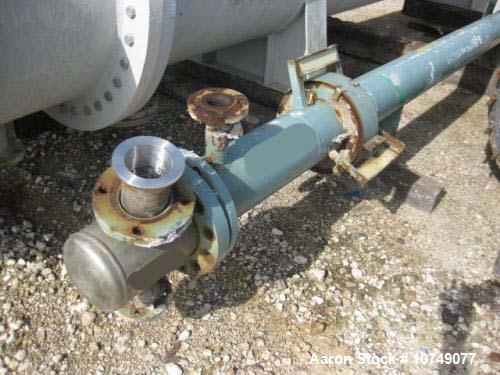 Used-Atlas Heat Exchanger, shell and tube